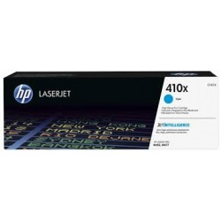 HP 410X higher capacity cyan toner cartridge (CF411X)