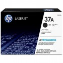 HP 37A black toner cartridge