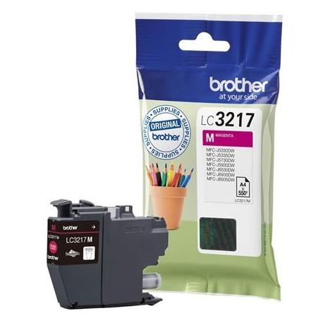 Brother LC3217M magenta ink cartridge (LC3217M)
