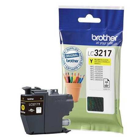 Brother LC3217Y yellow ink cartridge (LC3217Y)