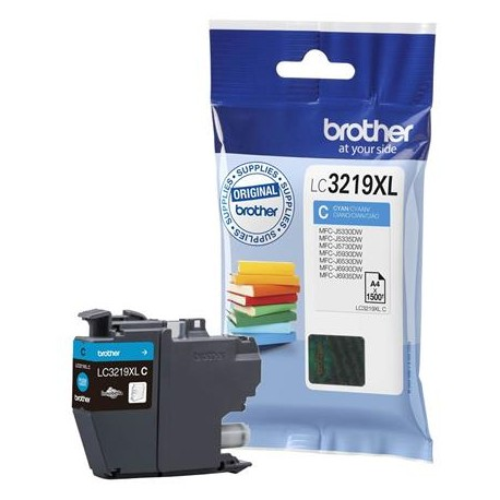 Brother LC3219XL-C higher capacity cyan ink cartridge