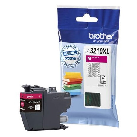 Brother LC3219XL-M higher capacity magenta ink cartridge