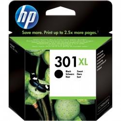 HP 301XL didesnės talpos juoda rašalo kasetė