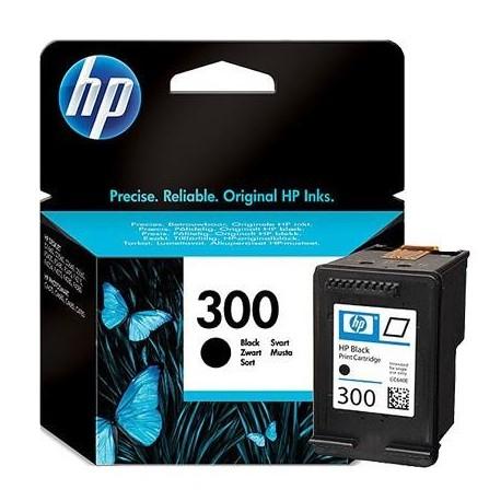HP 300 juoda rašalo kasetė