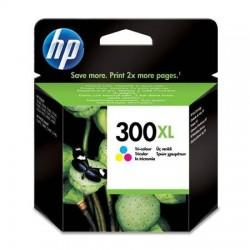 HP 300 didesnės talpos daugiaspalvė rašalo kasetė
