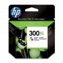 HP 300XL didesnės talpos daugiaspalvė rašalo kasetė