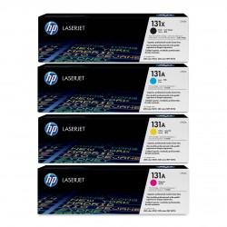 HP 131X/A tonerių kit (CF210X, CF211A, CF212A, CF213A)