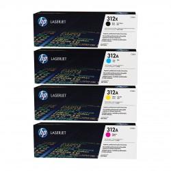 HP 312X/A toner kit (CF380X, CF381A, CF382A, CF383A)