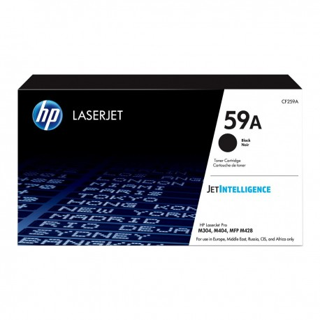 HP 59A black toner cartridge, without chip (CF259A)