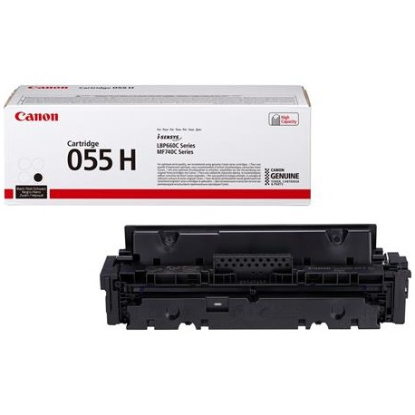 Canon Cartridge 055H higher capacity black toner cartridge