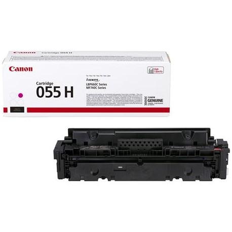 Canon Cartridge 055H higher capacity magenta toner cartridge