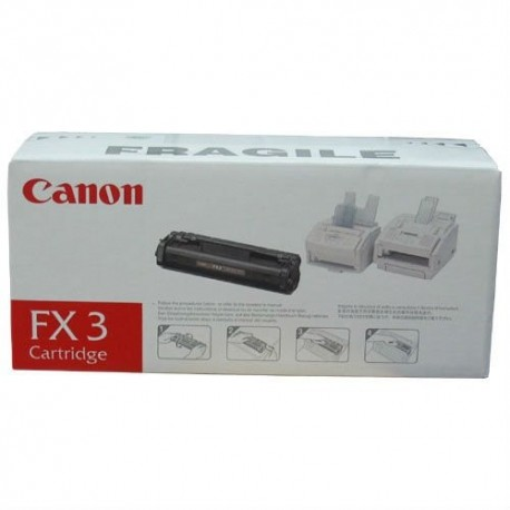 Canon Cartridge FX-3 black toner cartridge (FX-3, 1557A003)