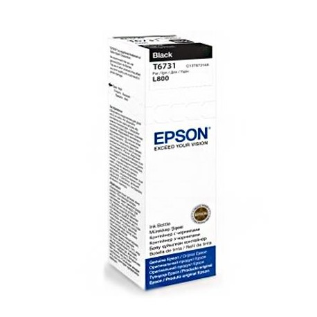Epson T6731 black ink bottle (C13T67314A)