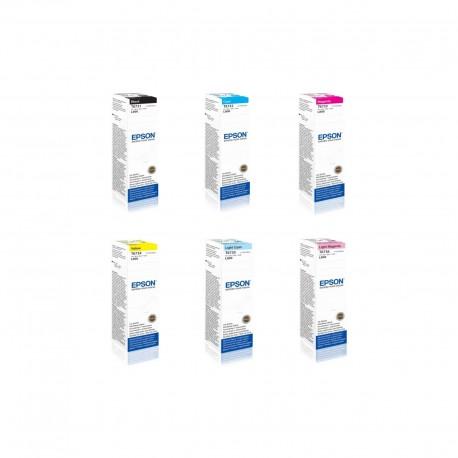Epson T673 ink bottle kit (T6731/2/3/4/6)