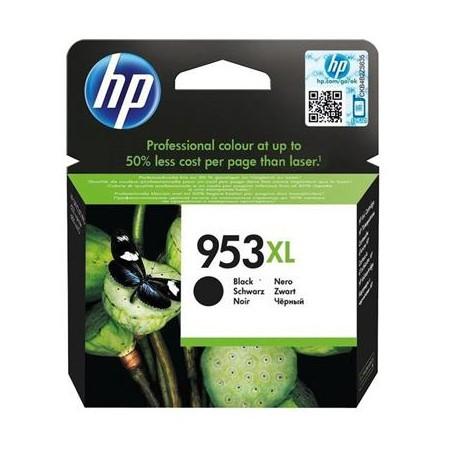 HP 953XL didesnės talpos juoda rašalo kasetė