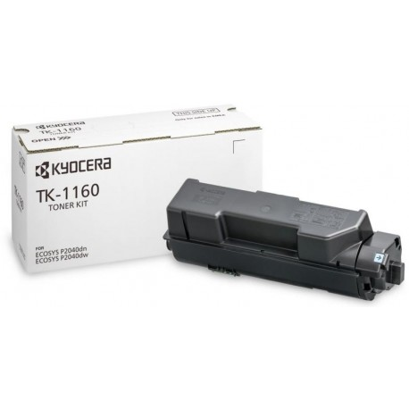 Kyocera TK-1160 black toner cartridge (TK-1160)