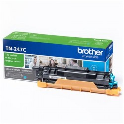 Brother TN-247C cyan toner cartridge (TN-247C)