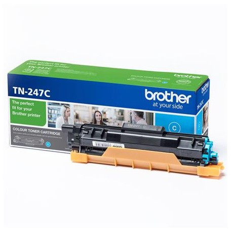 Brother TN-247C cyan toner cartridge (TN-247C)