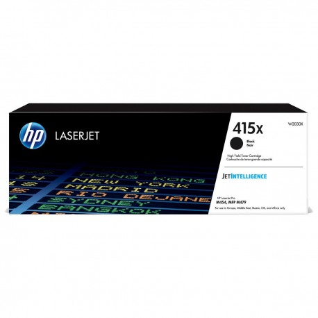 HP 415X higher capacity black toner cartridge (W2030X)