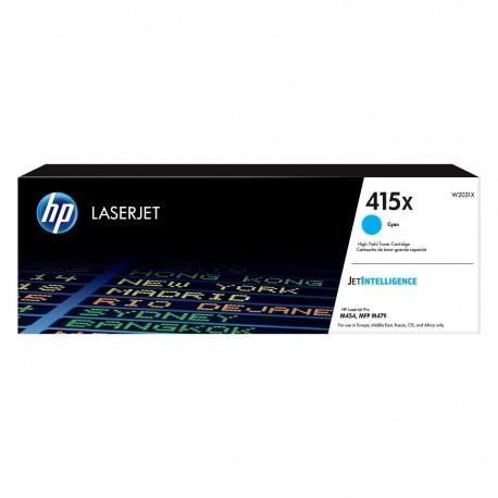 HP 415X higher capacity cyan toner cartridge (W2031X) (W2031X)