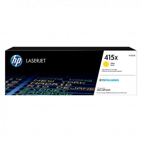 HP 415X higher capacity yellow toner cartridge (W2032X) (W2032X)