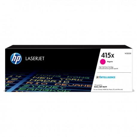 HP 415X higher capacity magenta toner cartridge (W2033X)
