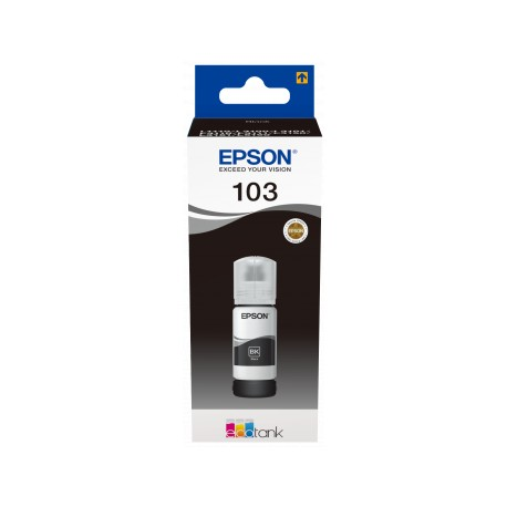 Epson 103 black ink bottle (C13T00S14A)