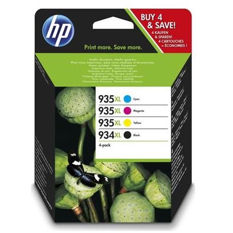 HP 934XL/935XL higher capacity ink cartridge kit (X4E14AE)