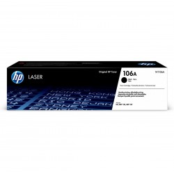 HP 106A black toner cartridge, without chip (W1106A)