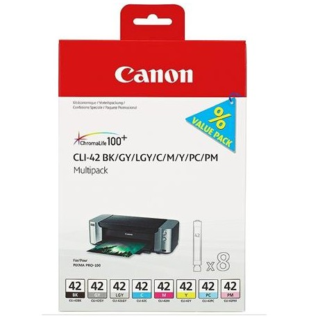 Canon CLI-42 ink cartridge kit (CLI-42)