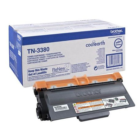 Brother TN-3380 higher capacity black toner cartridge (TN-3380)