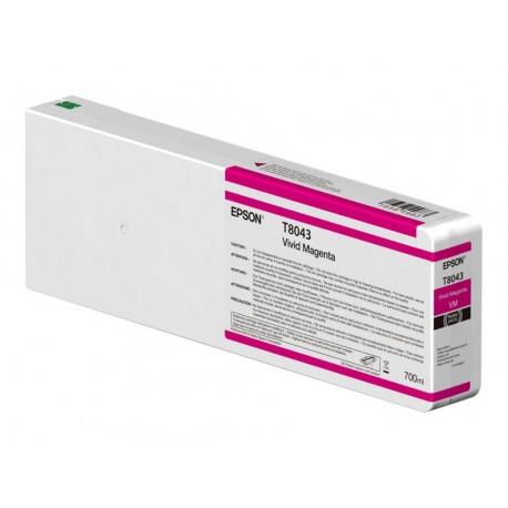 Epson T8043 light magenta ink cartridge (C13T804300)
