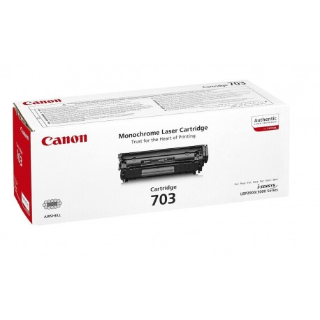 Canon Cartridge 703 black toner cartridge (Cartridge 703