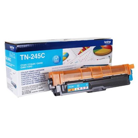 Brother TN-245C cyan toner cartridge (TN-245C)