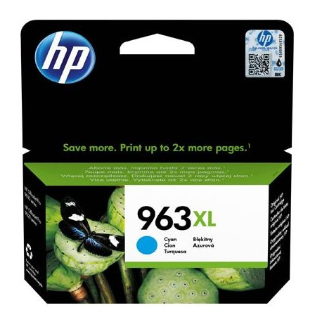 HP 963XL higher capacity cyan ink cartridge (3JA27AE)
