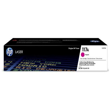 HP 117A magenta toner cartridge (W2073A)