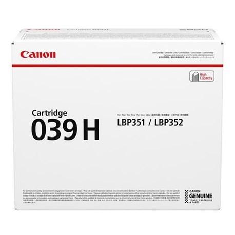 Canon Cartridge 039H higher capacity black toner cartridge