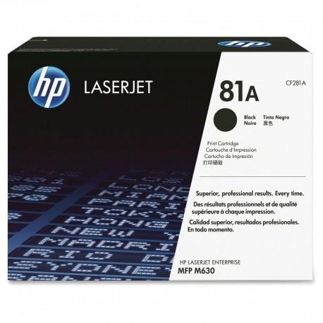 HP 81A black toner cartridge (CF281A)