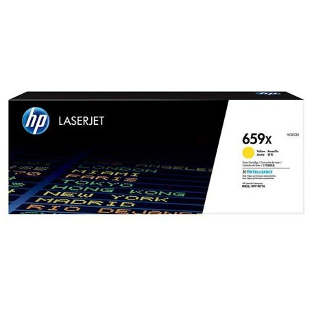 HP 659X higher capacity yellow toner cartridge (W2012X)