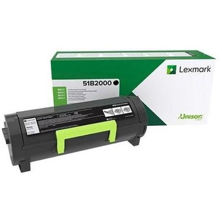 Lexmark 51B2000 black toner cartridge (51B2000)
