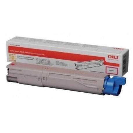 OKI 45862815 didesnės talpos purpurinė kasetė