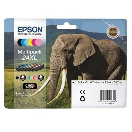 Epson 24XL  didesnės talpos rašalo kasečių komplektas