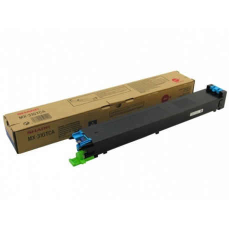 Sharp MX-31GTCA cyan toner cartridge (MX31GTCA)