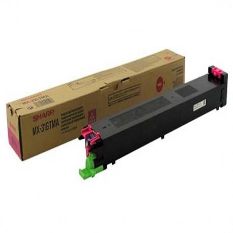 Sharp MX-31GTMA magenta toner toner cartridge (MX31GTMA)