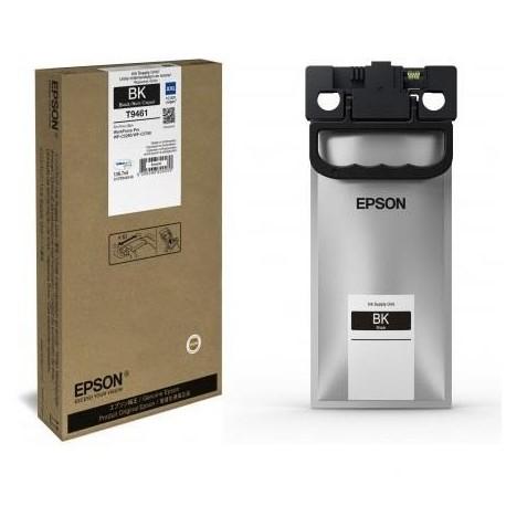 Epson T9461 didesnės talpos juoda rašalo kasetė