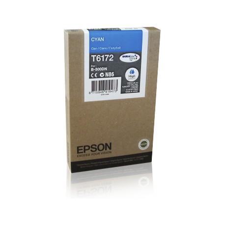 Epson T6172 didesnės talpos žydra rašalo kasetė