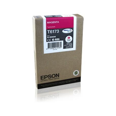 Epson T6173 didesnės talpos purpurinė rašalo kasetė