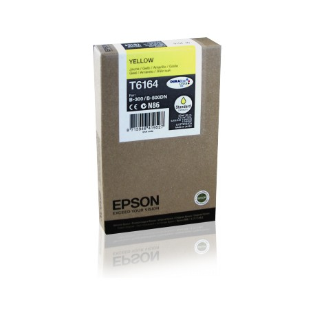 Epson T6164 yellow ink cartridge (C13T616400)
