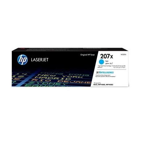 HP 207X higher capacity cyan toner cartridge (W2211X)