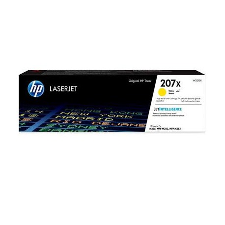 HP 207X higher capacity yellow toner cartridge (W2212X)